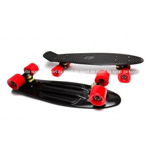 PENNY Exclusive BLACK AND RED WHEELS с черной подвеской